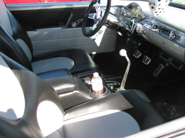 A Jumbo HumpHugger Console in a 1955 Chevy