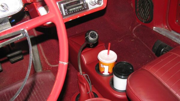 A Chevy Corvair Floor Mounted Console