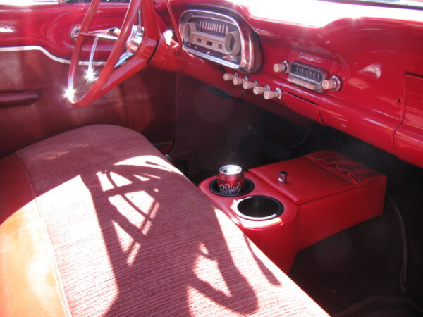 A Low Rider Floor Console in s 1963 Ford Falcon
