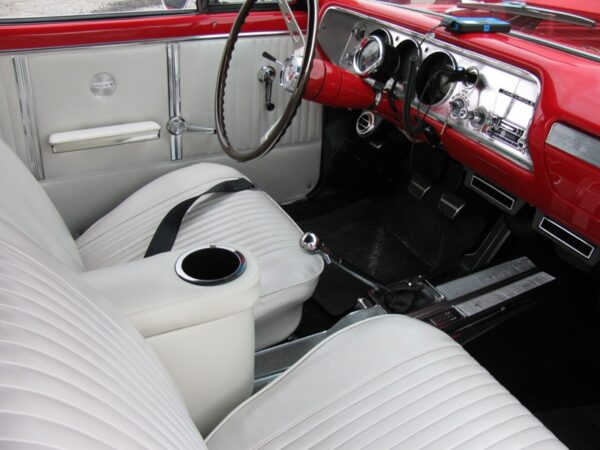 A Chevy Chevelle Saddle Console in 1964 Chevelle