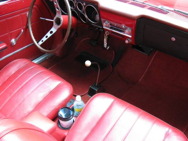A Chevy Corvair HumpHugger Console in Corvair