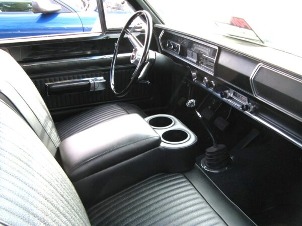 A BC Cruiser Console in a 1966 Plymouth