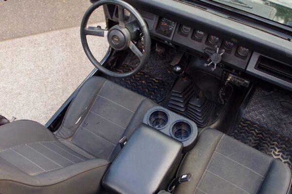 Jeep Wrangler YJ Console