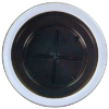 Large - Matte Silver Rim ($5.00)